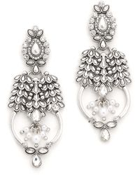 Samantha Wills World From Here Grand Earrings - Silver - Metallic