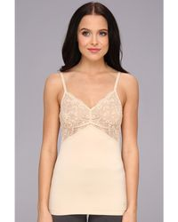 DKNY Signature Skin Comfort Lace Cami - Lyst