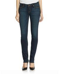 Paige Skyline Skinny Jeans - Lyst