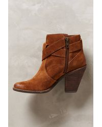 Dolce Vita Brown Conary Booties - Lyst