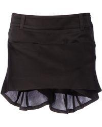 Haider Ackermann Glizinie Skirt black - Lyst
