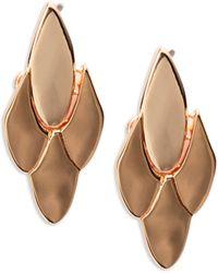 Kate Spade - Fancy Flock Post Back Earrings - Lyst