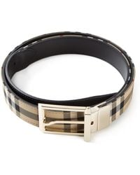 Burberry 'House Check' Belt - Lyst