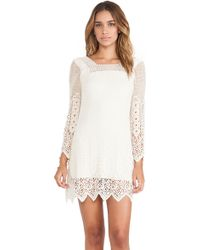Jen's Pirate Booty Sandalwood Mini Dress white - Lyst