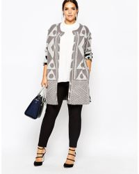 Carmakoma - Abstract Patterned Cardigan - Lyst