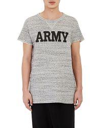 NLST - Men's Army Short-sleeve Sweatshirt - Lyst