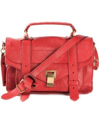 Proenza Schouler PS1 Small Leather Tote - Lyst