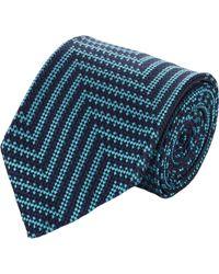 Duchamp Basketwoven Silk Neck Tie - Lyst