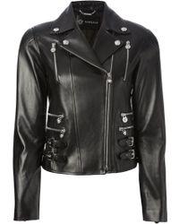 Versace Classic Biker Jacket - Lyst