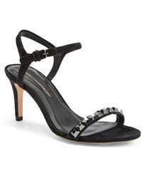 Rebecca Minkoff 'Beau' Studded Leather Sandal - Lyst