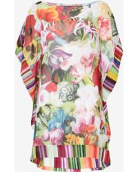 Ted Baker Floral Swirl Cover Up - Purple