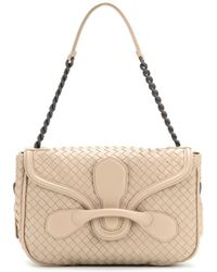 Bottega Veneta Rialto Leather Shoulder Bag - Lyst