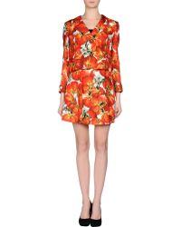Dolce & Gabbana Women'S Suit red - Lyst