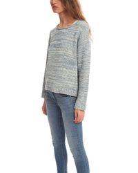 Acne Studios Sapata Twist Pullover gray - Lyst