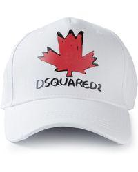 DSquared² Logo Cap - Lyst