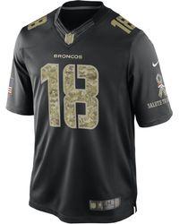 Nike Peyton Manning Denver Broncos Salute To Service Jersey - Lyst