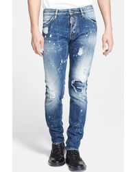 DSquared² 'Cool Guy' Slim Fit Distressed Jeans - Lyst