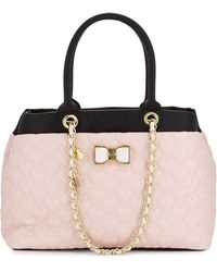 Betsey Johnson Be My Bow Shopper Tote Bag - Lyst