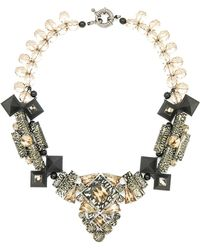 Moutoncollet - Moutton Collet Louise Statement Necklace 177 - Lyst