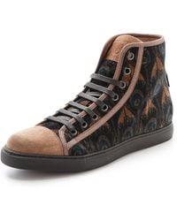 Marc Jacobs - Peacock High Top Trainers - Lyst