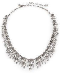 Kate Spade Evening Affair Fringe Necklace - Lyst