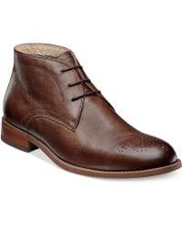 Florsheim Rockit Chukka Boots brown - Lyst