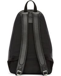 Juun.J - Black Nylon Backpack - Lyst