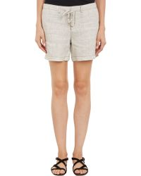 Barneys New York Beverly Shorts - Lyst
