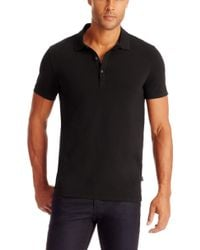 Hugo Boss Forli  Slim Fit Stretch Cotton Polo Shirt - Lyst