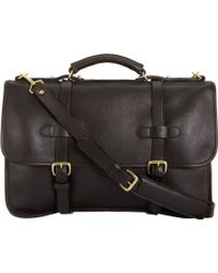 Lotuff Leather - English Briefcase - Lyst