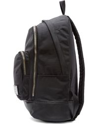 Marc By Marc Jacobs - Black Leather_Trimmed Ultimate Backpack - Lyst