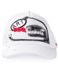 DSquared² Printed Baseball Cap - Lyst