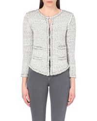 Maje Madness Knitted Cardigan - Lyst