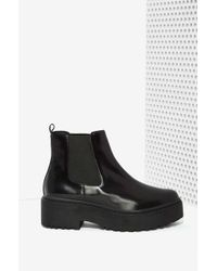 Nasty Gal Universal Leather Boot - Lyst