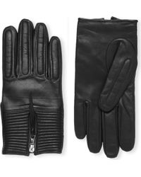 Sandro | Race Goatskin Leather Gloves - For Men | Lyst