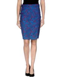 Pinko Knee Length Skirt - Lyst