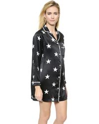 Zoe Karssen Night Shirt - Pirate Black - Lyst