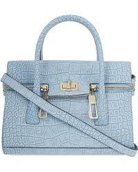 Max Mara Small Leather Over The Shoulder Handbag - Lyst