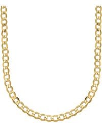 Lord + Taylor 14k Yellow Gold Cuban Chain Link Necklace
