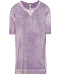 Bottega Veneta Cashmere and Silk T-shirt - Lyst