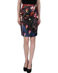 Piccione.piccione Knee Length Skirt - Lyst