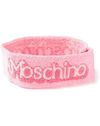 Moschino - Logo Headband - Lyst