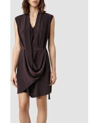 AllSaints Renati Dress - Brown