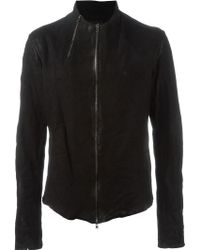 Lost & Found - Zip Detail Leather Jacket - Lyst