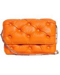 Benedetta Bruzziches Carmen Orange Shoulder Bag - Lyst