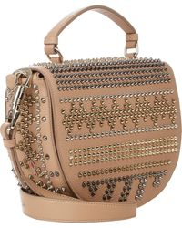 Christian Louboutin Studded Panettone Messenger - Lyst