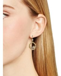 Melinda Maria - Emma Cluster Drop Earrings - Lyst