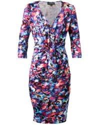 Saloni Mariana Jersey Dress - Lyst