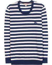 Burberry Brit - Striped Cashmere Sweater - Lyst