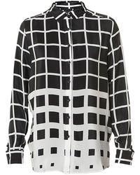 Six Ames Tilde Silk Shirt - Lyst